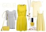 Outfit Hochzeit Gelb
