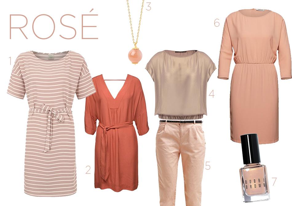 Rosé Kleider